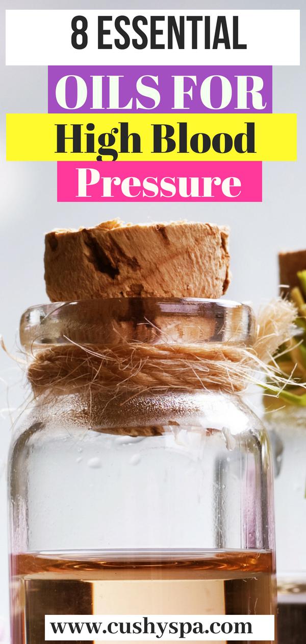 Need some high blood pressure remedies? Here are 8 essential oils for high blood pressure. #highbloodpressure #highbloodpressureremedies