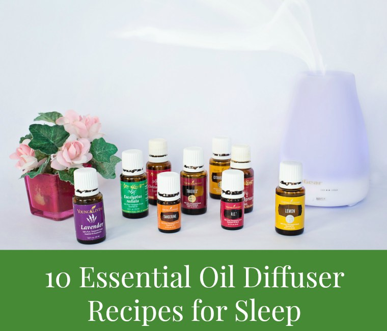 essential oil diffuser recipes for sleep