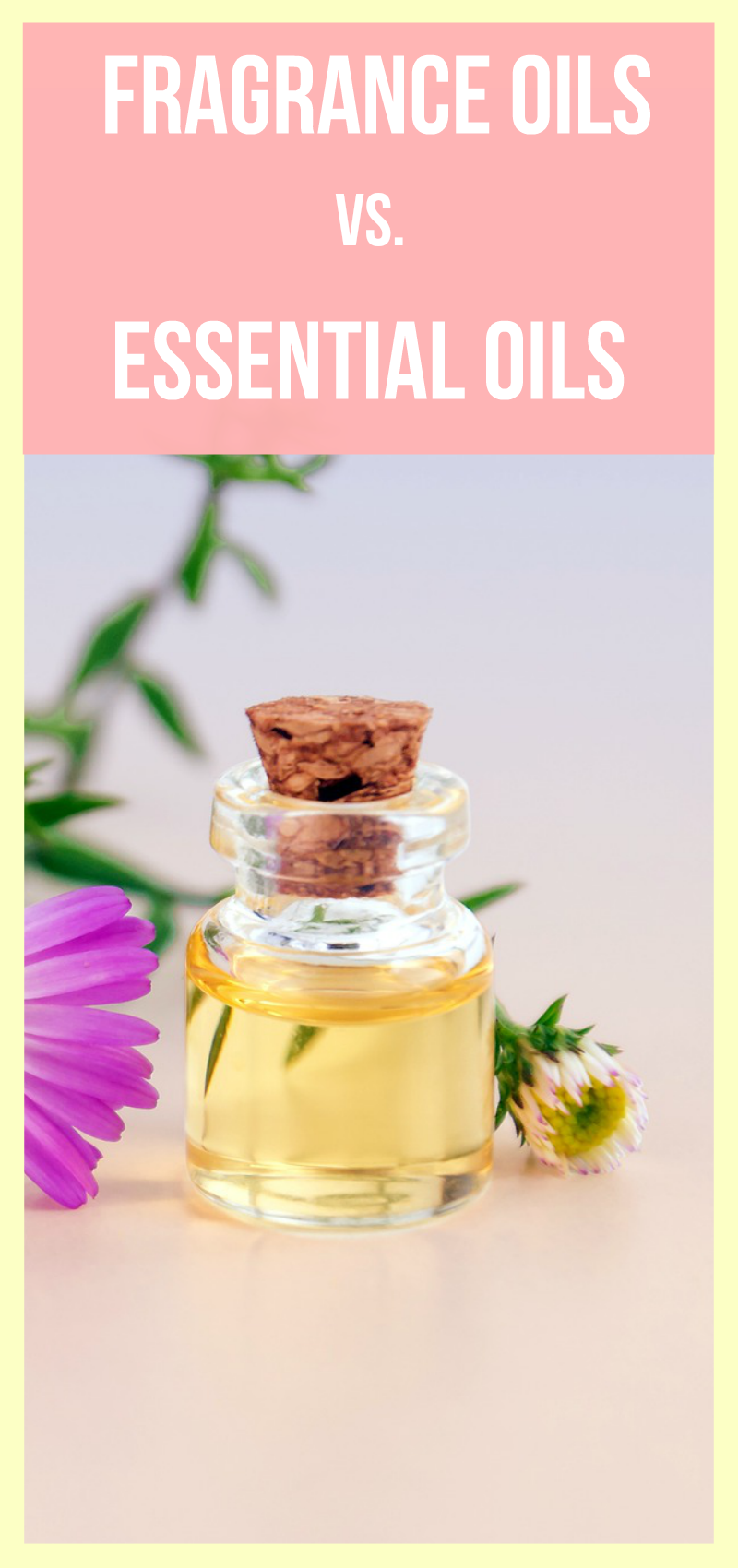Fragrance oil vs essential oil, what are the benefits and drawbacks of each? What can they be used for and how useful they can be for your needs. #aromatherapy #essentialoils