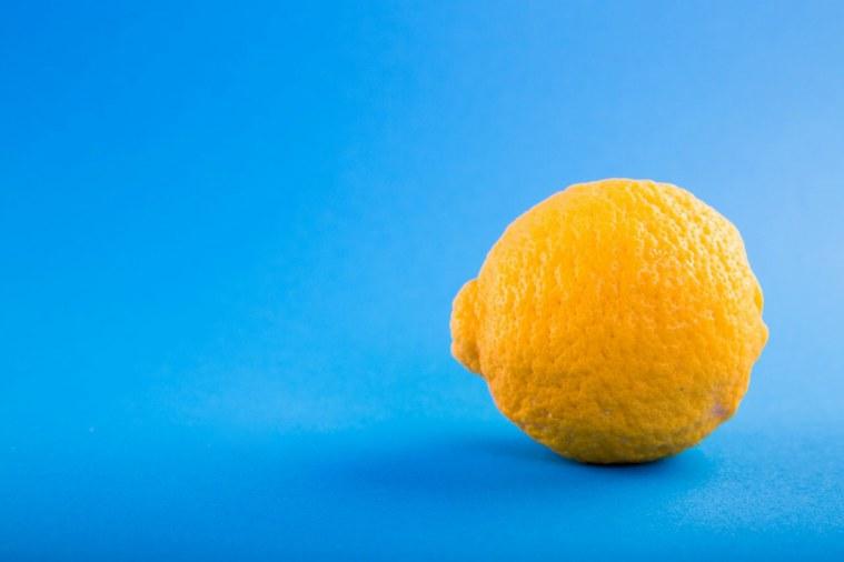 lemon for feet