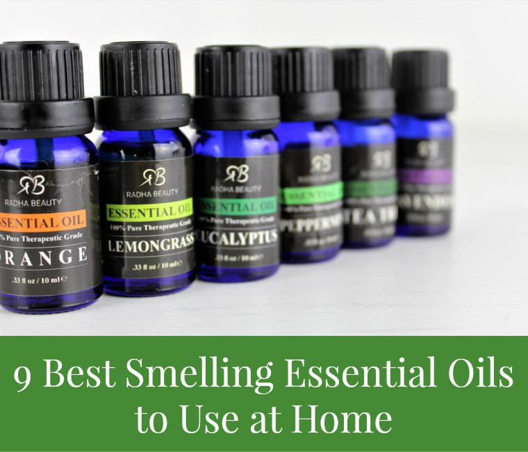 9 best smelling essential oils