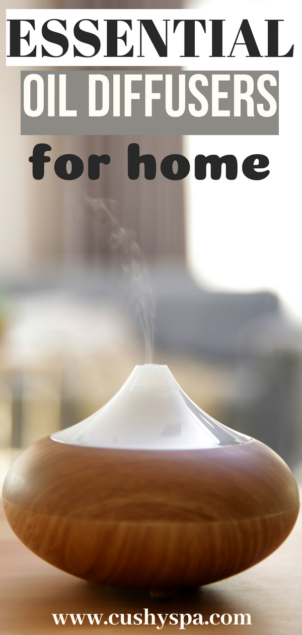Interested in essential oils? Want to try your essential oils recipes with a diffuser? Here 5 best essential oil diffusers for home. #aromatherapy #essentialoils #essentialoildiffusers