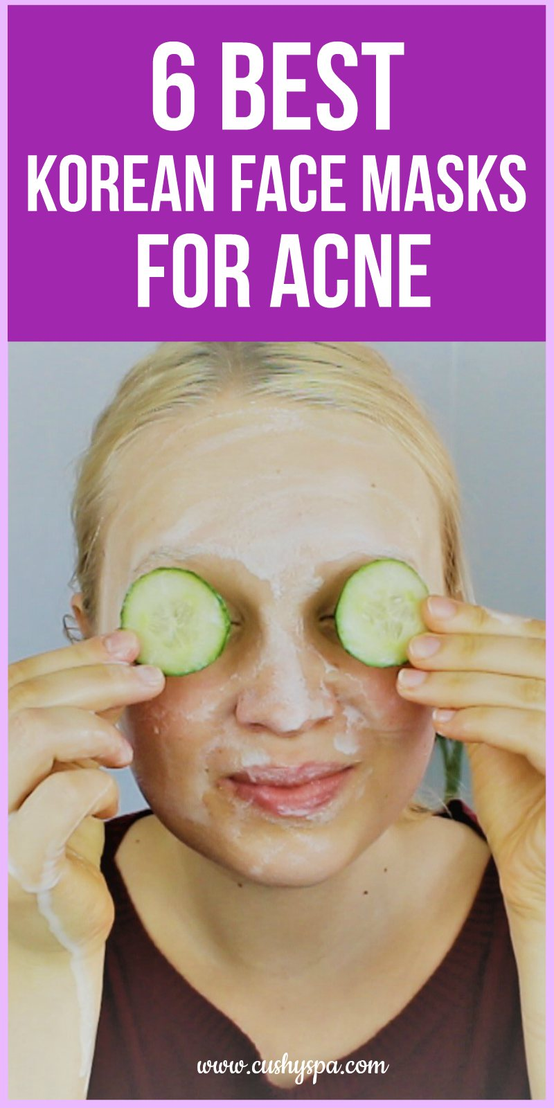 best korean face masks for acne