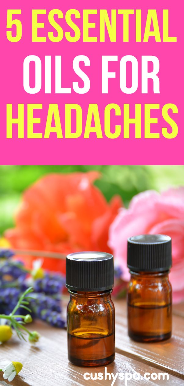 Looking for a headache remedy? Here are 5 essential oils for headaches and migraines, find the best headache essential oil for you.