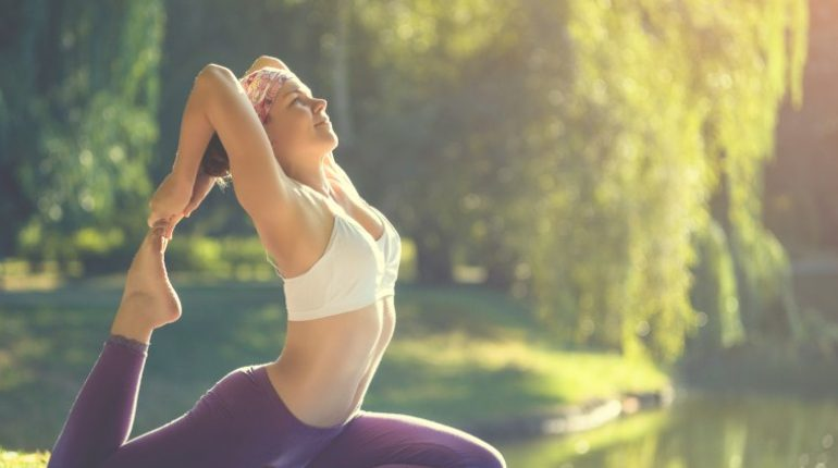 yoga poses to burn fat