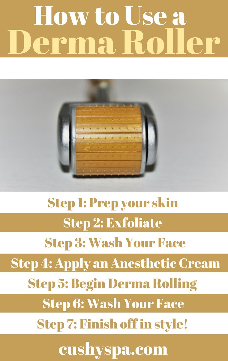 How to Use a Dermaroller tips