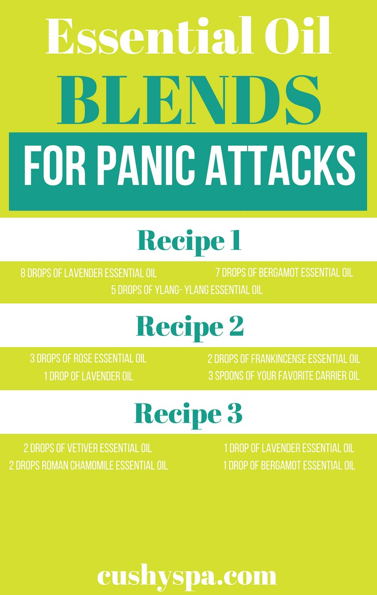 essential oil blends for panic attacks