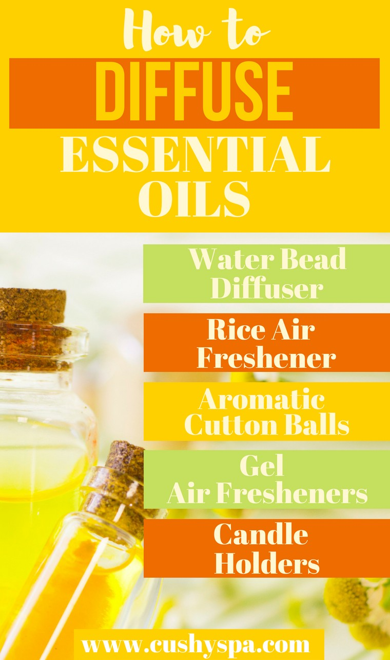 how to diffuse essential oils naturally