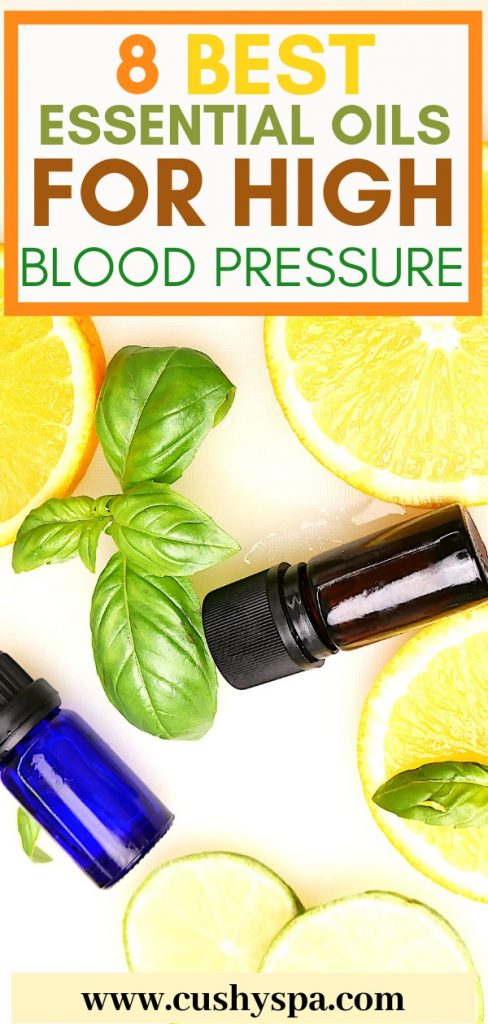 8 best essential oils for high blood pressure