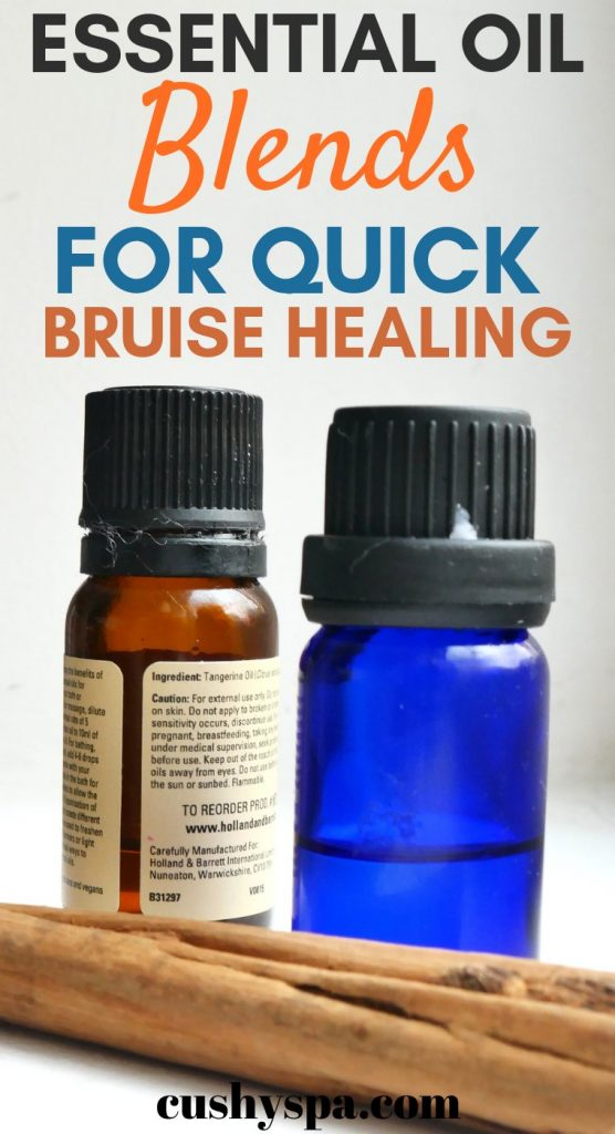 essential oil blends for quick bruise healing
