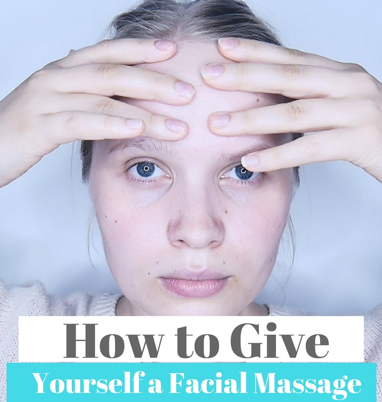 how to do a face massage