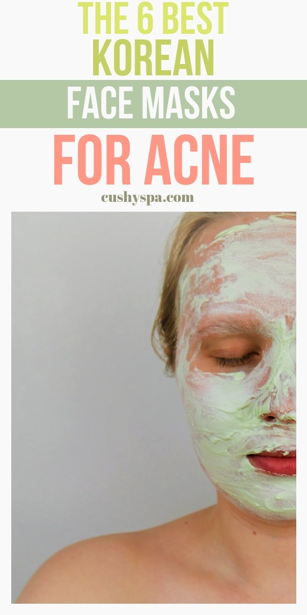 the 6 best korean face masks for acne