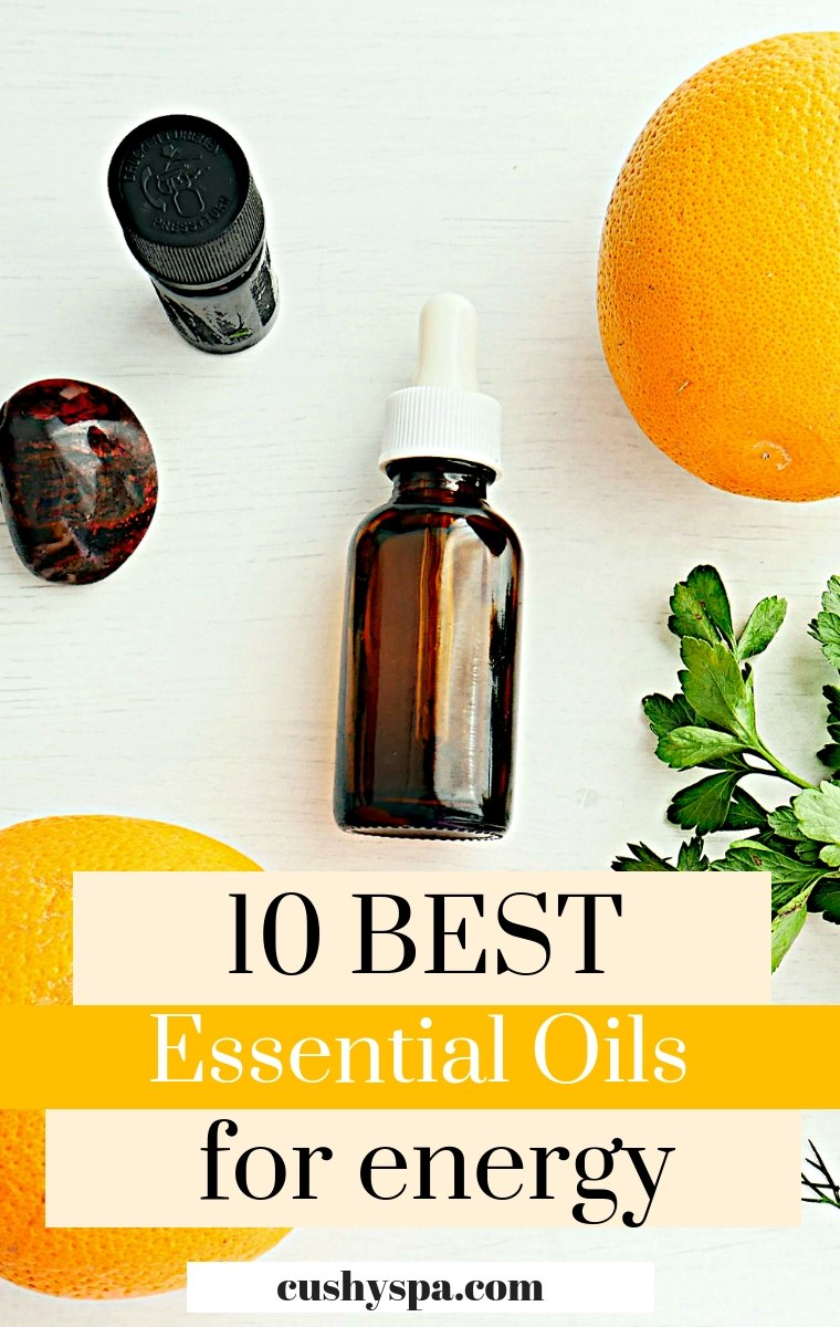10 Best Essential Oils for Energy