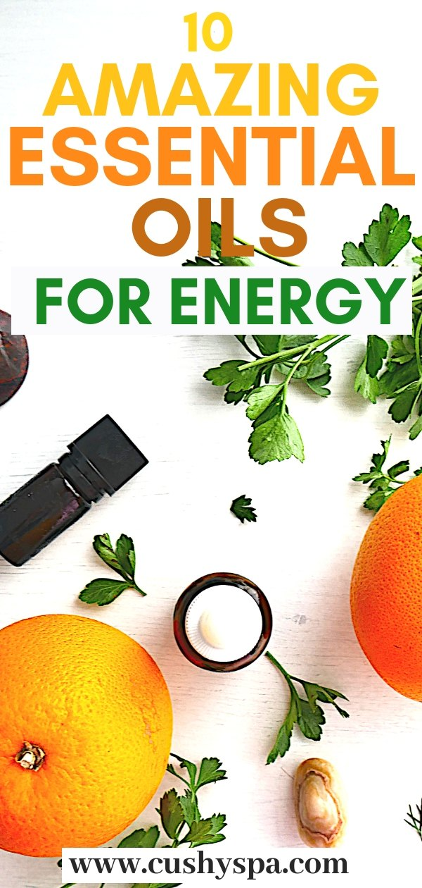 Want to try some aromatherapy for energy and sleep? Try these 10 essential oils for energy boost! Aromatherapy for beginners and advanced is great! #essentialoilsforenergy #fatigue #aromatherapyforenergy