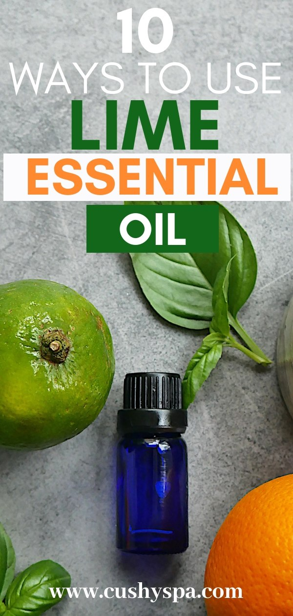 All about aromatherapy for beginners? Here are 10 lime essential oil benefits that you simply have to know and use them in aromatherapy recipes. #essentialoils #aromatherapy #aromatherapytips