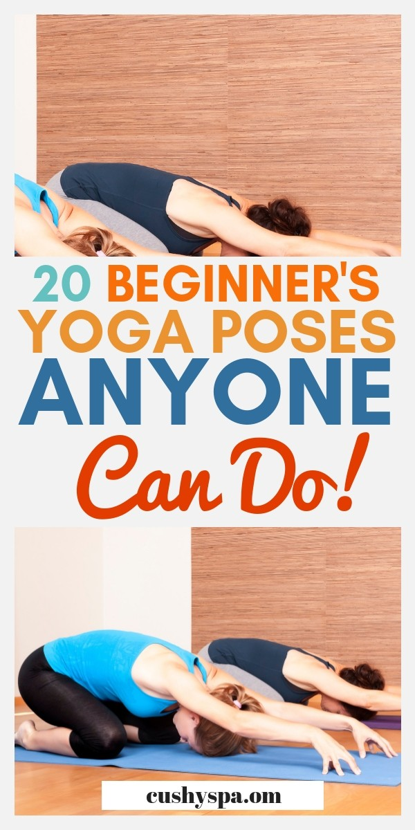 Do you want to learn more about yoga? Use yoga for flexibility? Or just burn fat? Here are 20 easy yoga poses for beginners that will help you with just that! #yogaposes #yogalifestyle