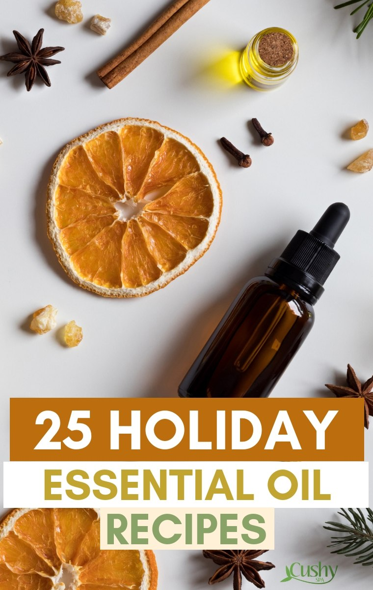 25 holiday essential oil recipes