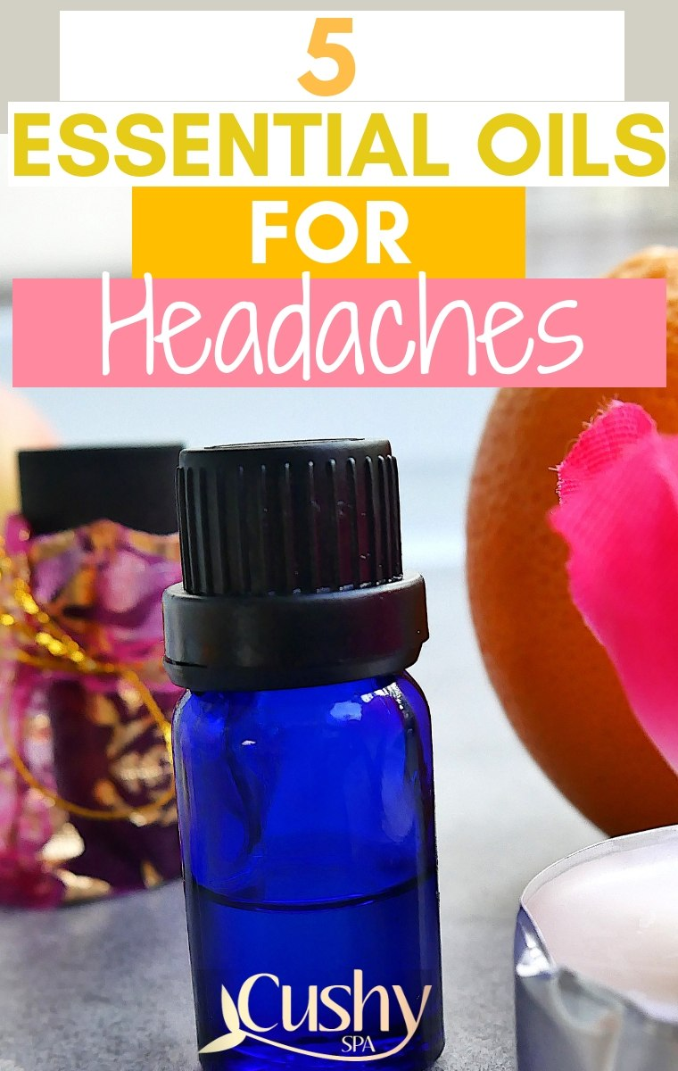 5 essential oils for headaches and migraines