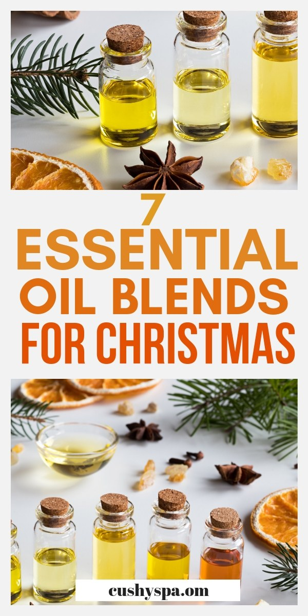 7 essential oil blends for christmas