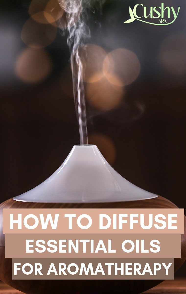 how to diffuse essential oils for aromatherapy