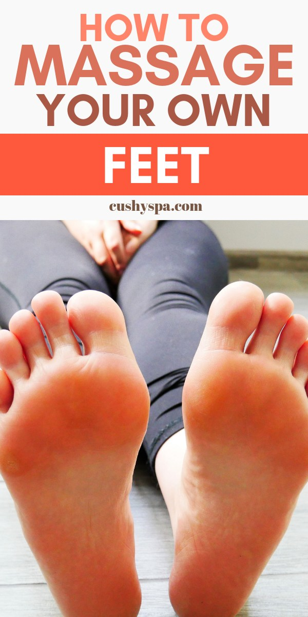 Interested in a foot massage? Here is how to massage feet at home yourself! Learn everything about pressure points and massaging tips! #footcare #footmassage