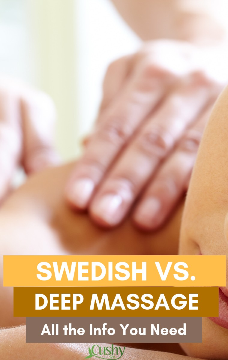 swedish massage vs deep tissue massage