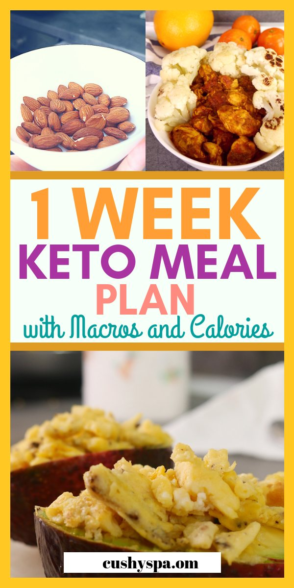 Sharing a weekly keto meal plan today that I'm very proud of! This easy keto diet meal plan should give you some ideas on how to approach your ketogenic diet. #ketodiet #ketomealplan #ketodietmealplan