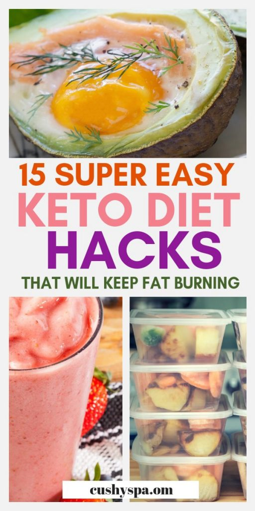 15 super easy keto diet hacks that will keep fat burning