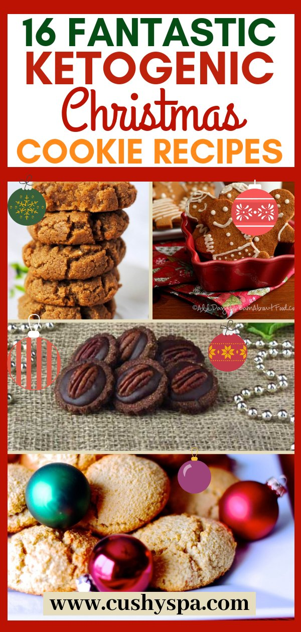 Sharing keto Christmas cookies recipes that are easy to make. These amazing Christmas cookies can do for a great low carb dessert on holidays! #christmas #ketochristmas #ketorecipes
