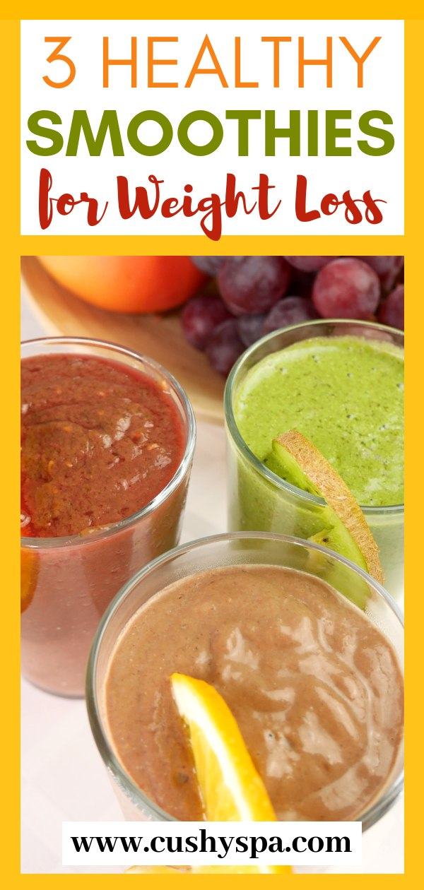 Here are 3 weight loss smoothies for someone who wants to lose weight. These smoothies are high in protein, high in fats! Truly good smoothies for weight loss. #smoothierecipes #smoothieweightloss #healthyeating