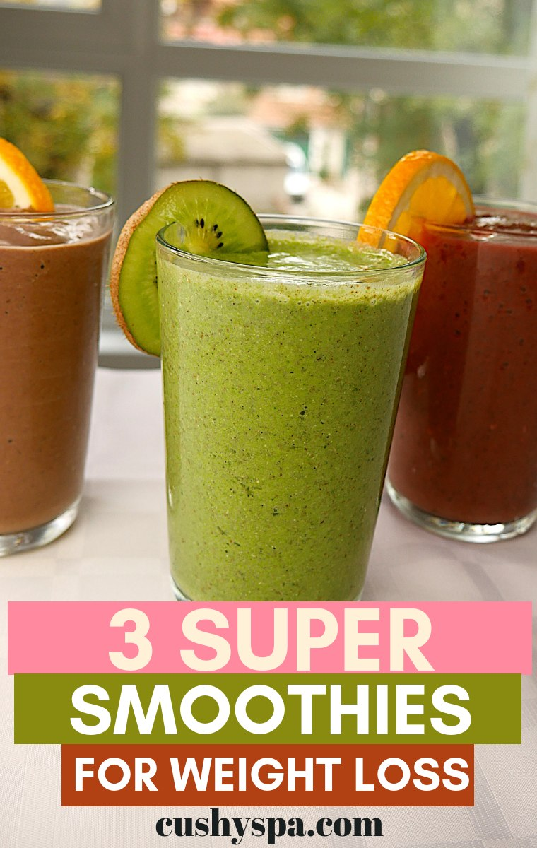 3 super smoothies for weight loss