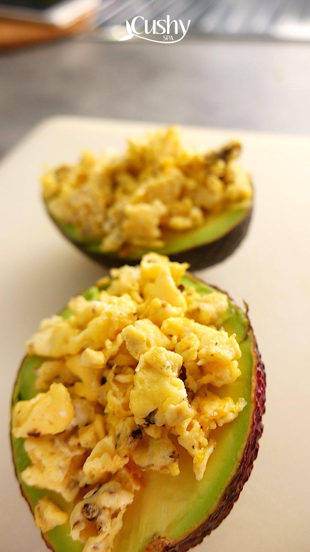 keto avocado bowls