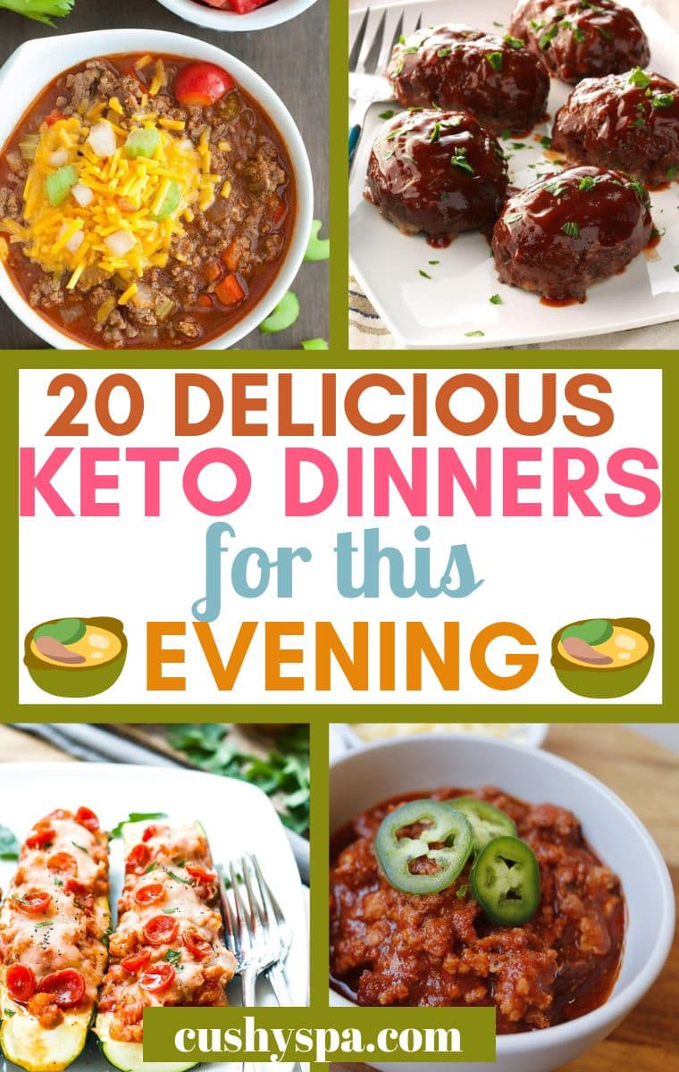 20 delicious keto dinners for this evening