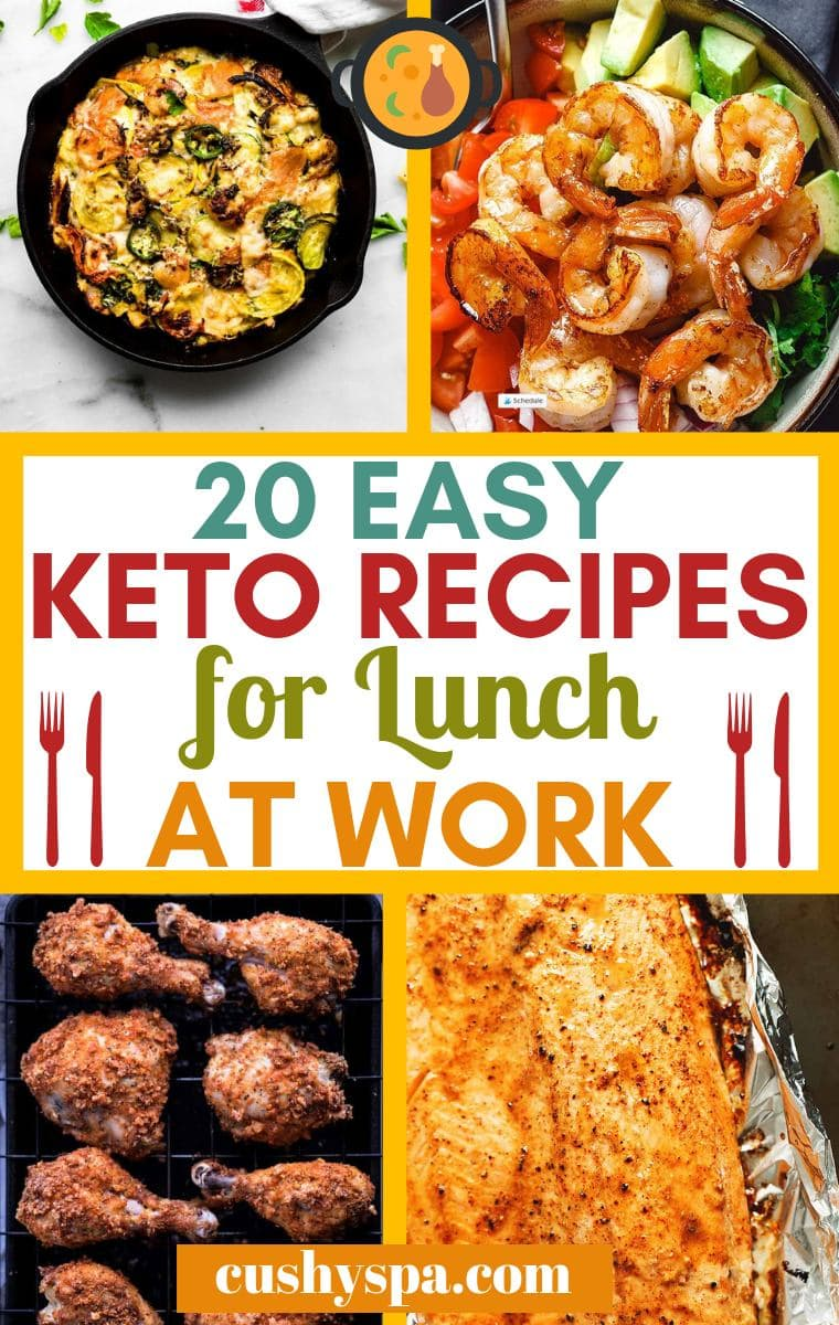 20 easy keto recipes for lunch at work