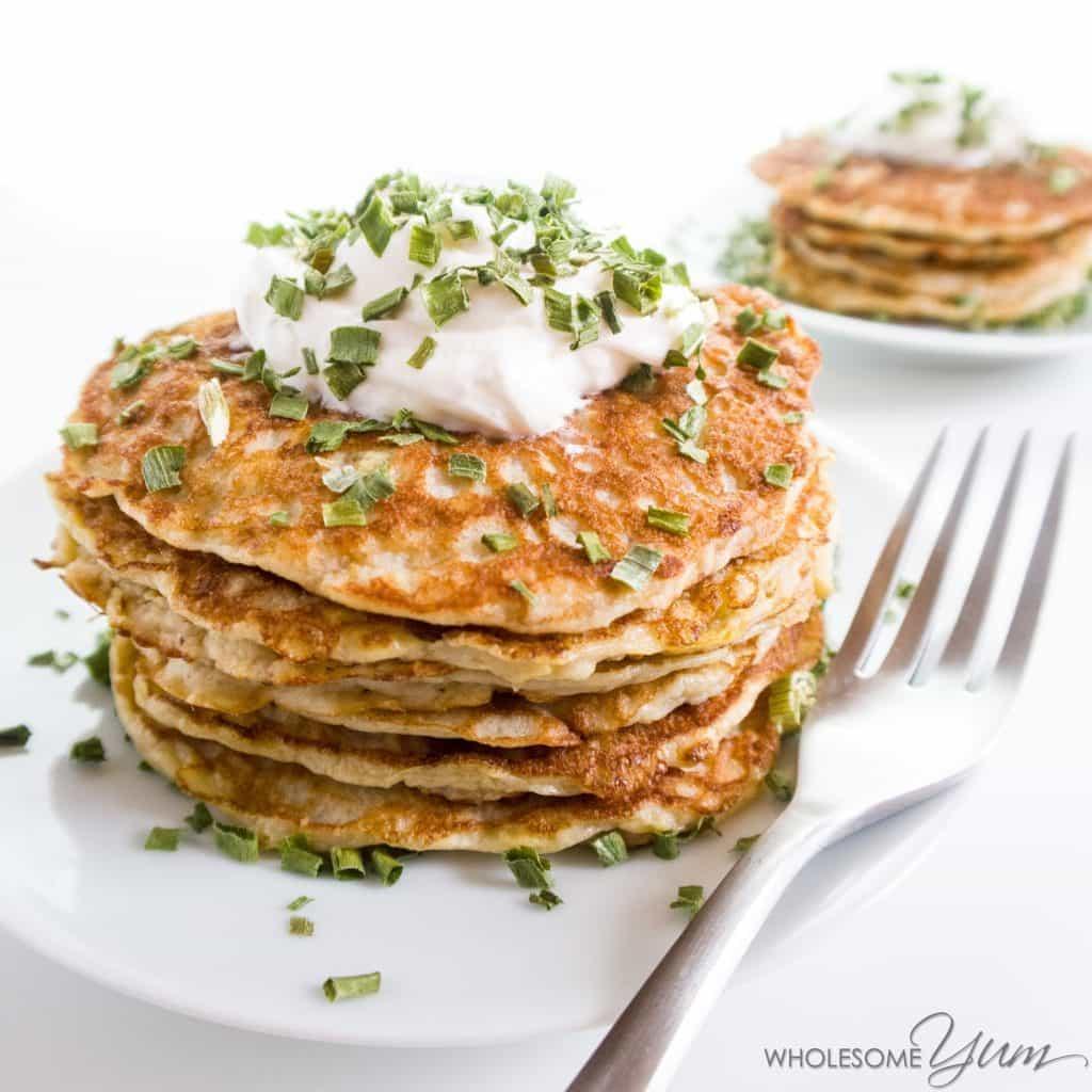 Savory Squash Kefir Pancakes