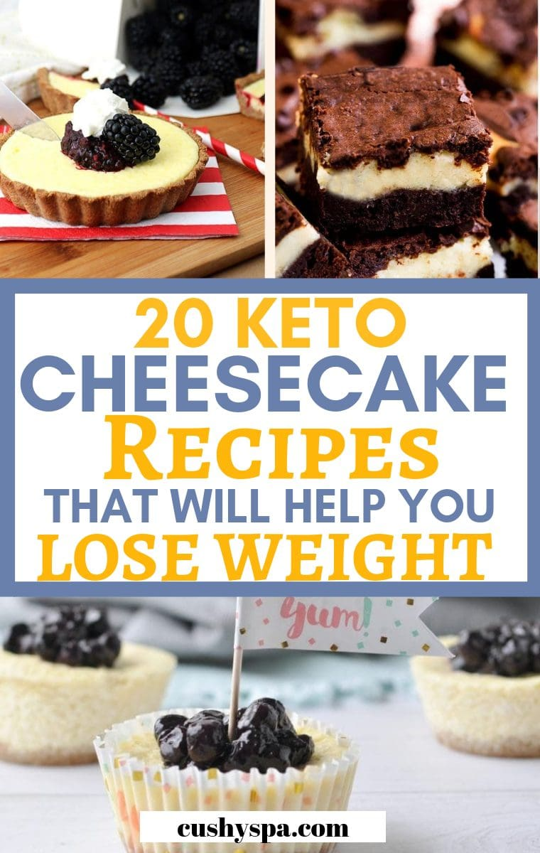 20 keto cheesecake recipes that will help you lose weight