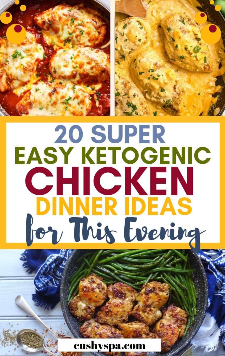 20 super easy ketogenic chicken dinner ideas for this evening