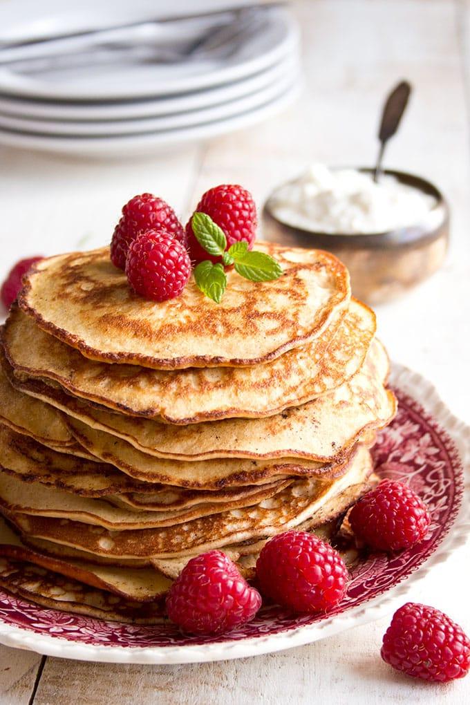 Almond Cream Cheese Keto Pancakes