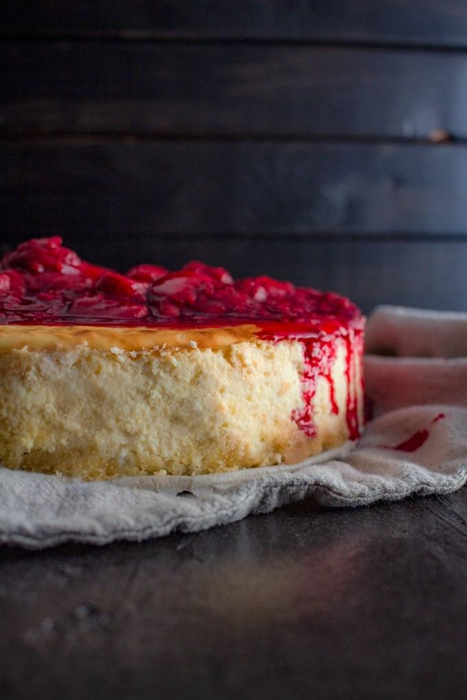 NYC Style Keto Cheesecake