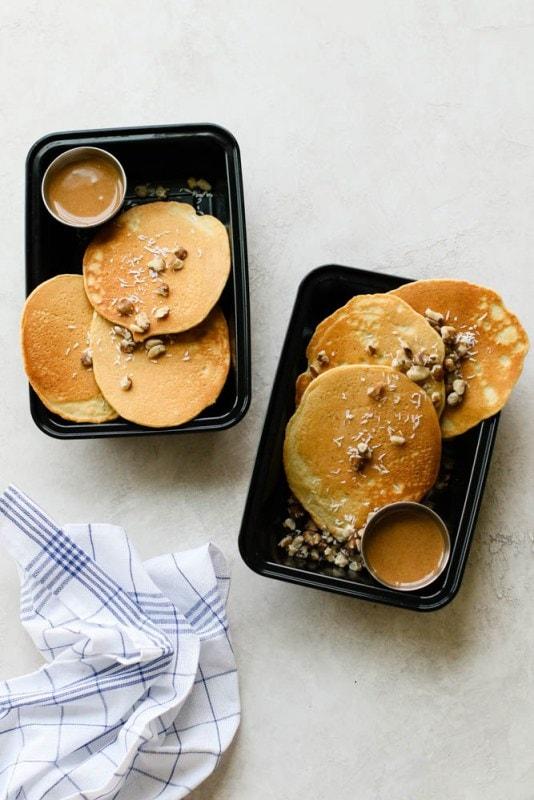 Nutty Keto Pancakes