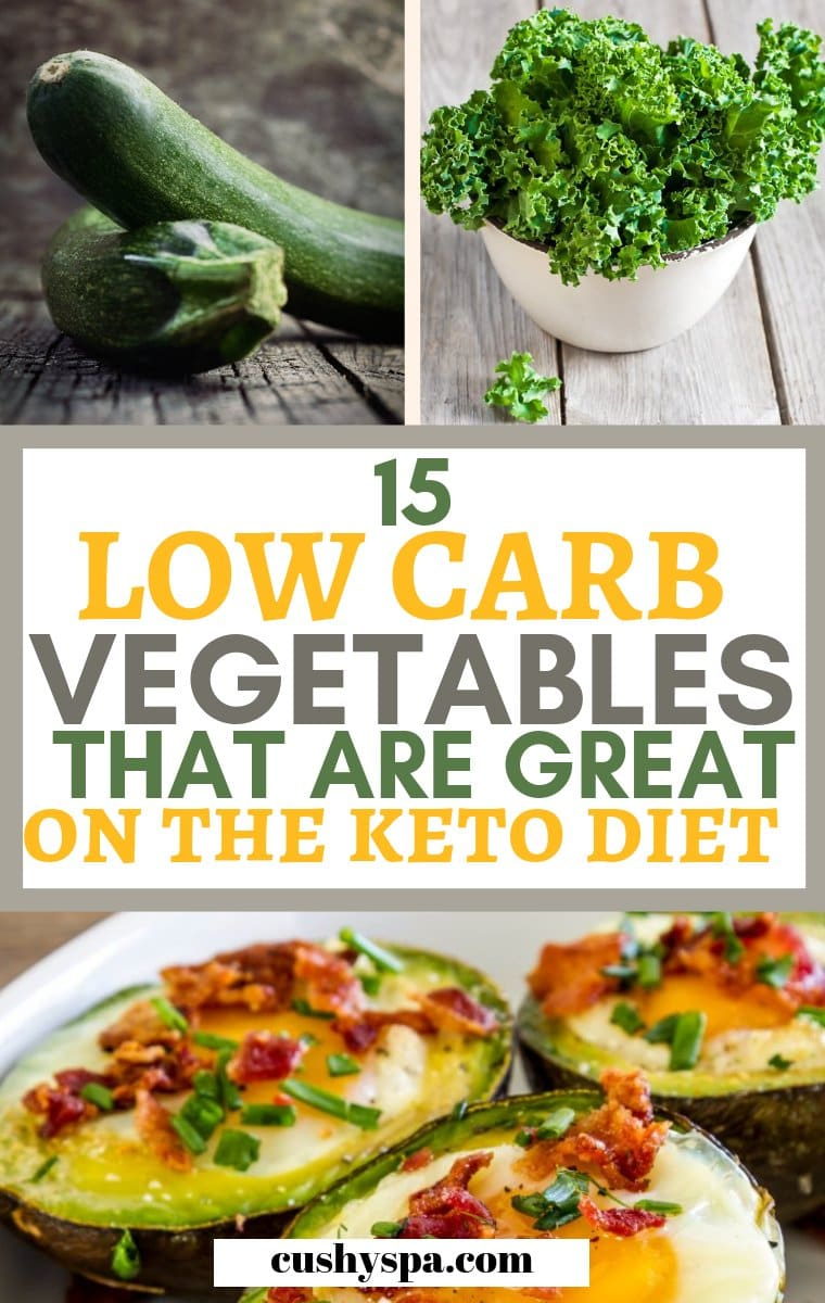 15 low carb vegetables