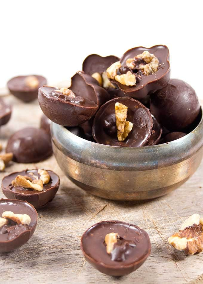 Chocolate Walnut Fat Bombs