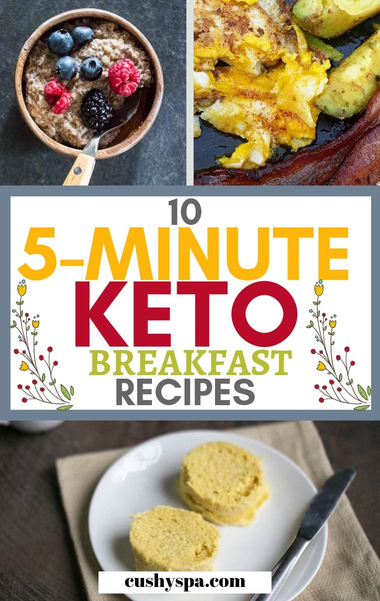 10 5 minute keto breakfast recipes