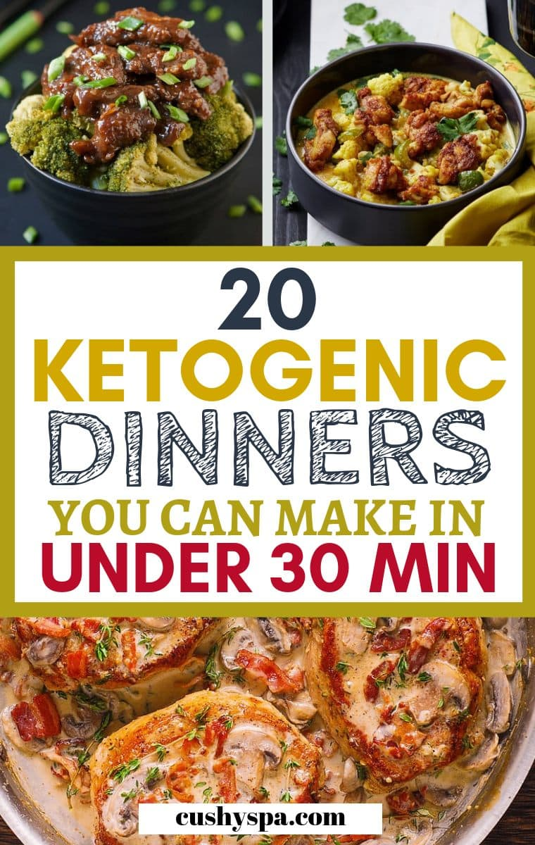 keto dinners under 30 minutes