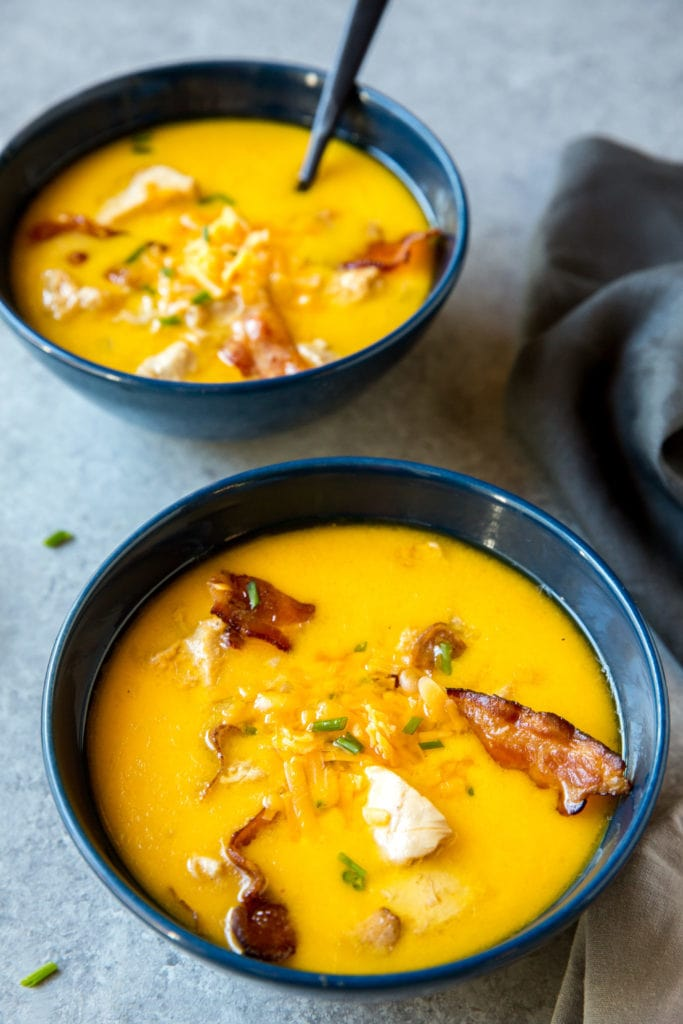 Bacon Cheddar Soup