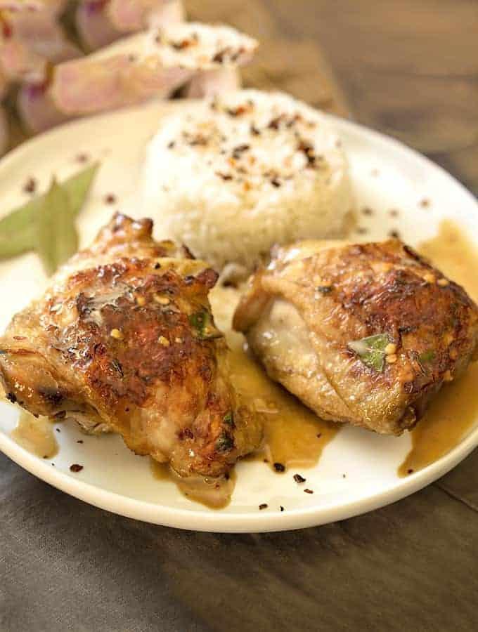 Filipino Chicken Adobo