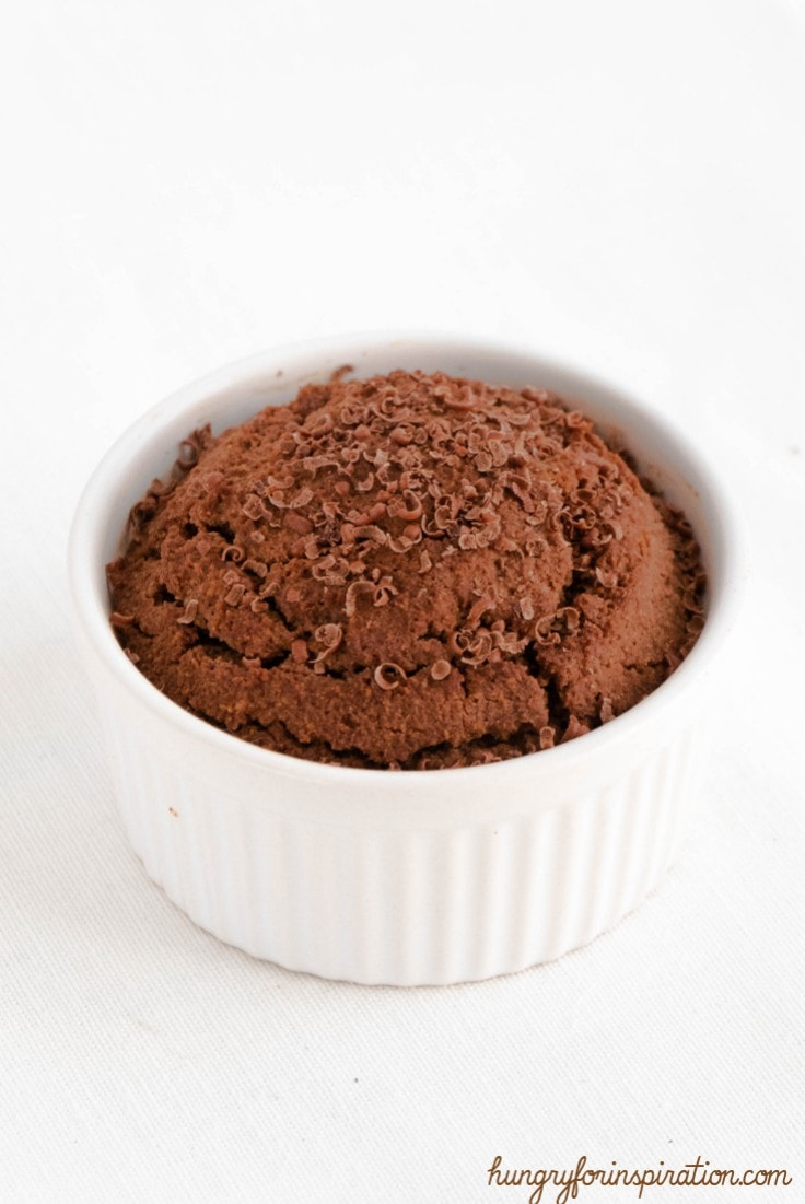 Chocolate and Peanut Butter Mug Cake