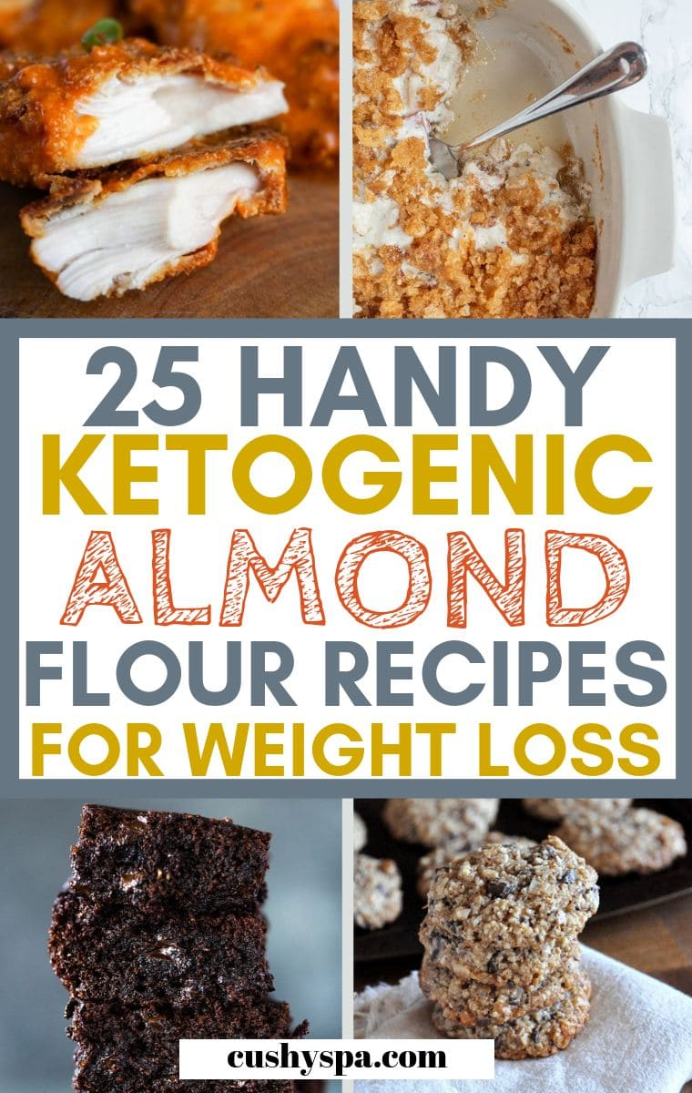 ketogenic almond flour recipes for weight loss