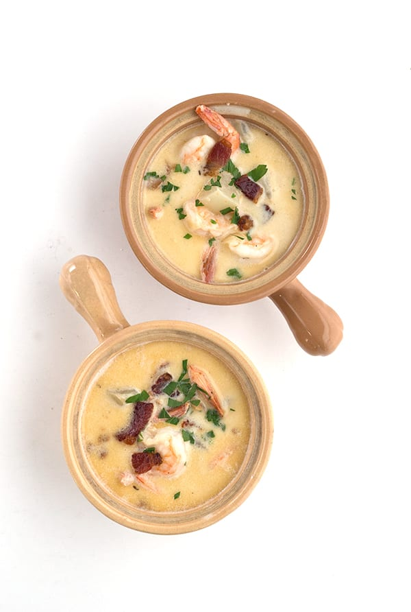 Shrimp and Bacon Chowder