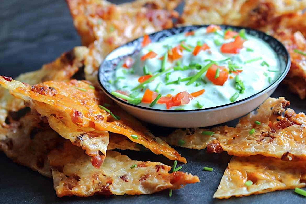 Cheese Bacon Nachos
